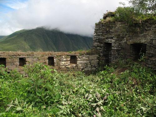 © La forteresse de Hualla Mocco, décembre 2009